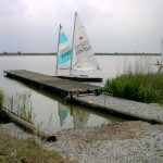 The Dinghy Park Slipway and Jetty